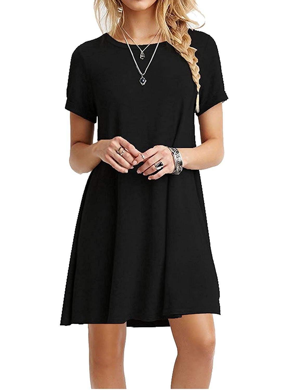 Украина модные, пикантные-линия Твердые Черный летнее платье Для женщин Мини Boho партии и пляж Для женщин Платья для женщин Свадебные платья 2017 плюс Размеры