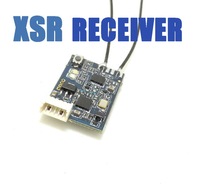 Marca nueva FrSky XSR 2,4 GHz 16CH ACCST receptor QAV w/S-Bus y CPPM Particular para Mini multicopter