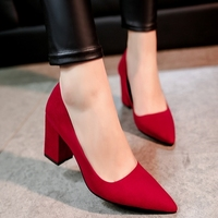 2016 New Women Office High Heels Shoes Party Wedding Woman Spring Summer Shoes Career Ladies Pumps