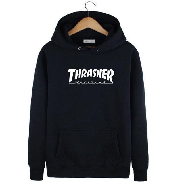 Harajuku Thrasher Hoodies Novo 2016 Marca Hip Hop Camisola para Homens Mulheres Palácio Skates Moleton Sudaderas Hombre Masculino