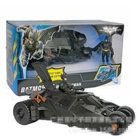 Juguetes DC BATMAN Car Marvel The Dark Knight Mc Bain Avengers Super Hero Aptain PVC 20cm