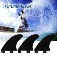 3 pièces/2 pièces FCS ailerons planche de Surf propulseurs de Tir ailerons en fibre de verre Nylon Surf ailerons GL/GX/M5/G5 Surf FCS kayak accessoires
