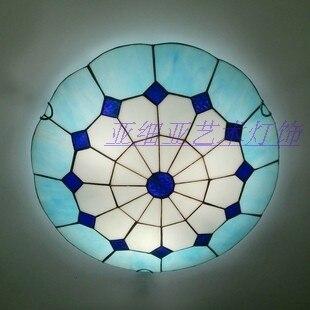 Здесь продается  12inch fashion tiffany Mediterranean  Ceiling Light Living Room Lights Bedroom Lamp   Свет и освещение