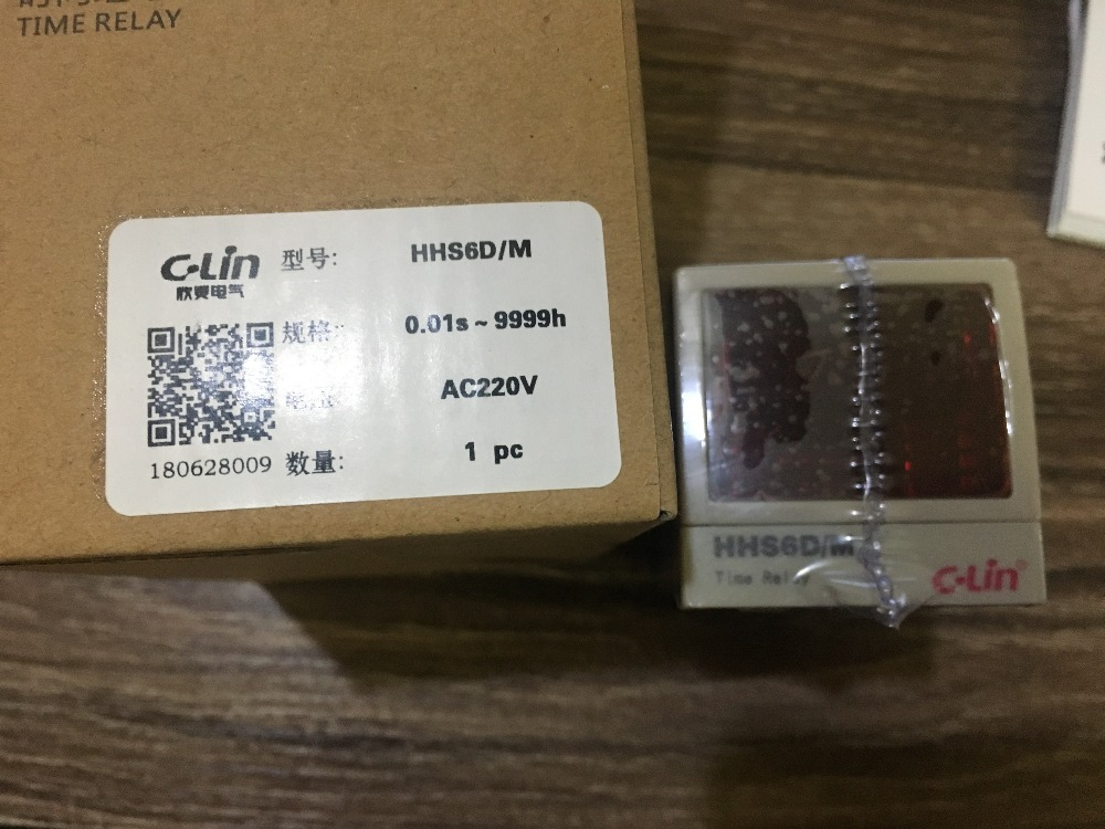 C Lin HHS6D M programmable multi loop digital display time of the second loop relay AC220V