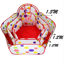 Baby Playpen Playpens Children Baby Playpens Safety Tents for Children with Basketry Kids Play Tent Ocean Ball Pool