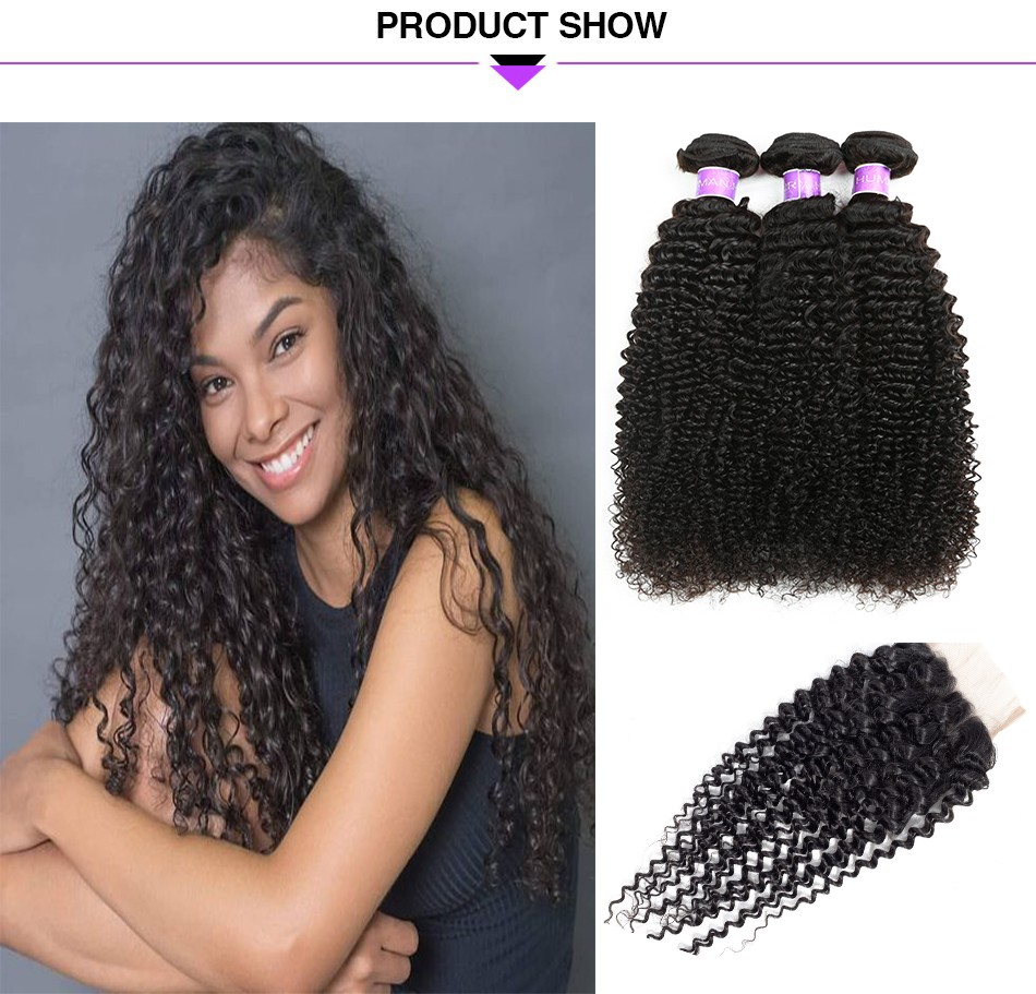 kinky curly virgin hair weave  (1)