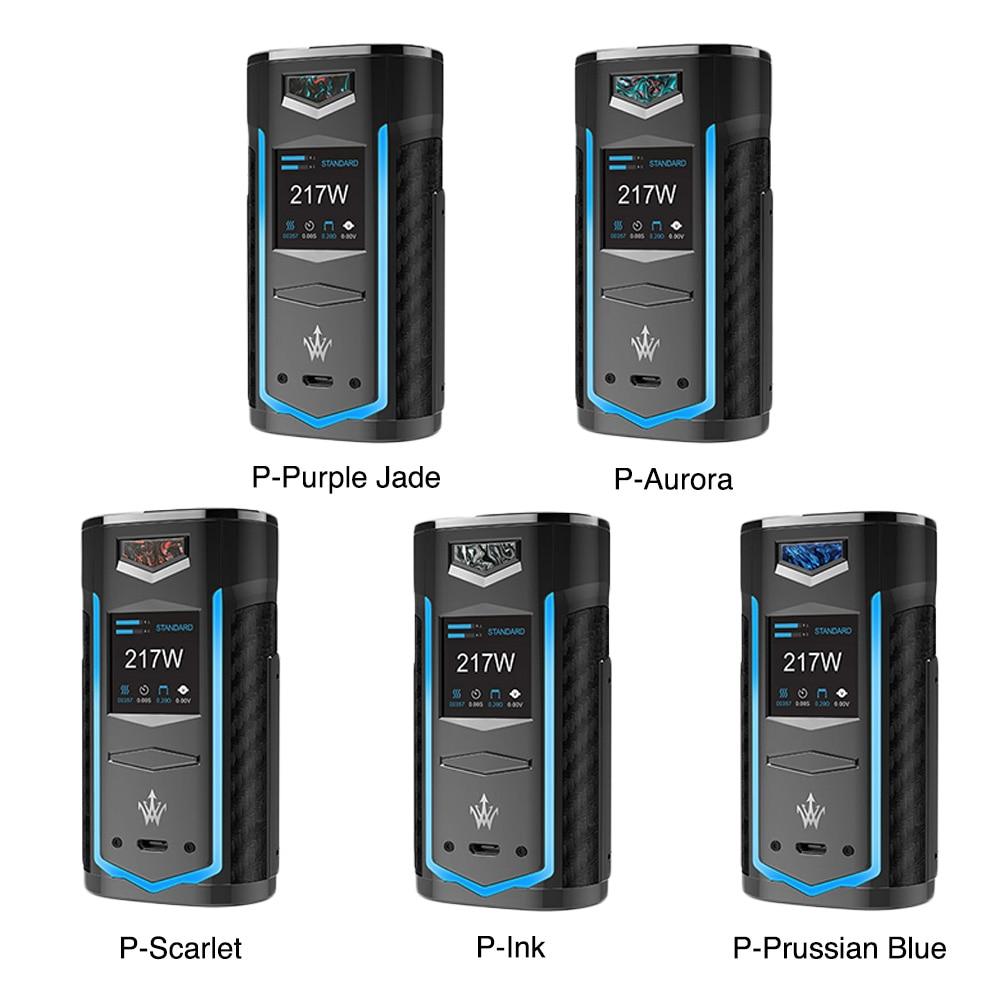 Nouveau Original VOOPOO X217 TC boîte Mod 217 W électronique Cigarette Vape gène. ventilateur puce TFT IPS HD écran VS glisser 2/Shogun/Luxe Mod - 2