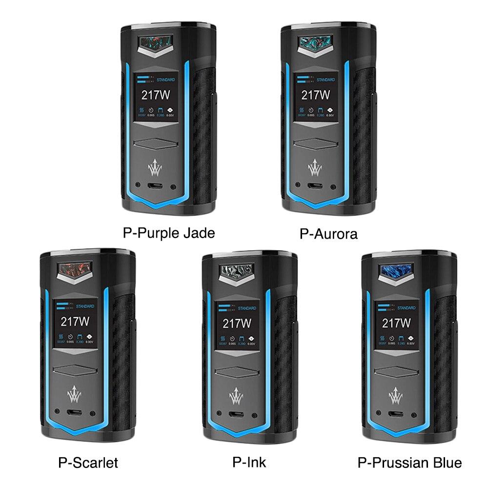 Nuevo Original VOOPOO X217 TC caja Mod 217 W cigarrillo electrónico Vape GENE ventilador Chip TFT IPS HD pantalla del arrastre 2/Shogun/Luxe Mod - 2