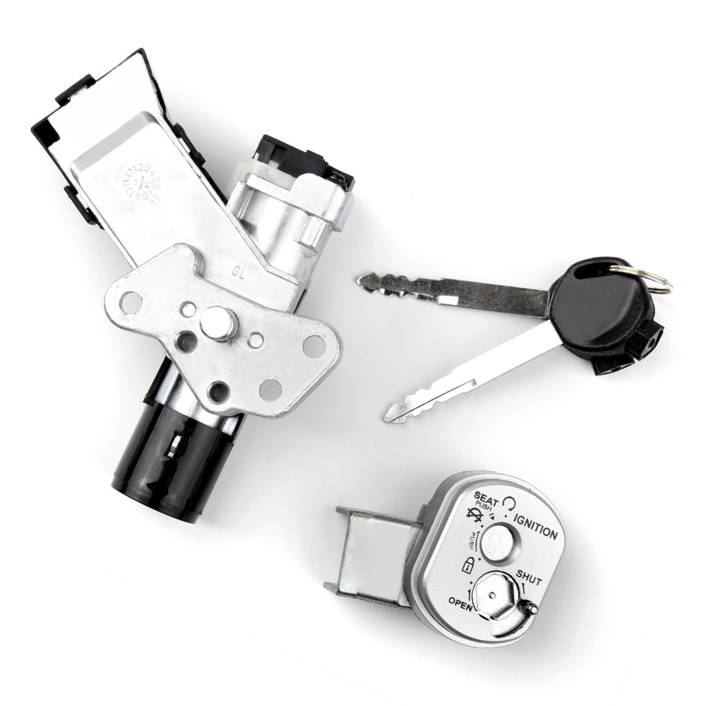 Areyourshop Motorcycle Ignition Switch Lock Set 35014 Gfc
