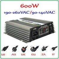 600W 22 60V Grid Tie Micro Inverter For 720W 30V 60cells or 36V 72cells PV Panels, Pure Sine Wave Output Power Inverter 600W