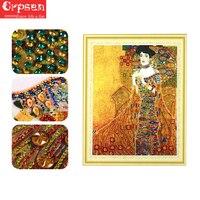 Diamond Painting 3D DIY Specail Diamond Embroidery Golden woman Diamond Mosaic Picture DP Accessories Home Decor Crpsen