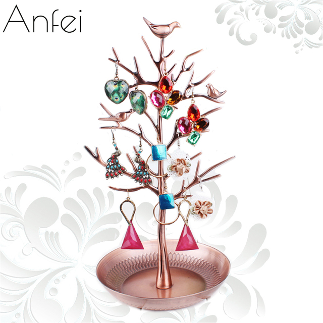 Metal Jewelry Tree Jewelry Organizer Holder Metal crafts Jewelry