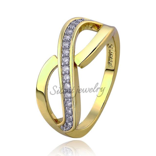 Brilliant Simple Styles Environment friendly 18K Rings For Women