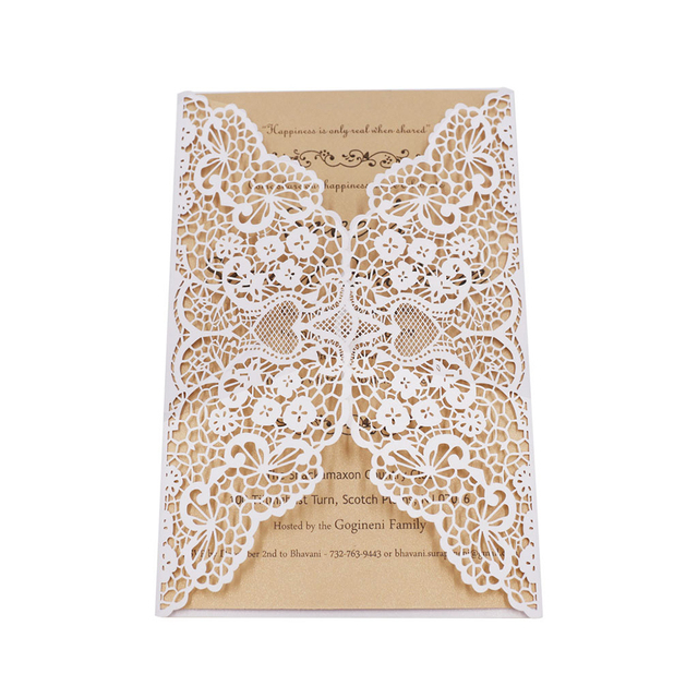 20 pcs elegant lace wedding invitation card with printable papermr 20 pcs elegant lace wedding invitation card with printable papermr mrs wedding greeting card m4hsunfo