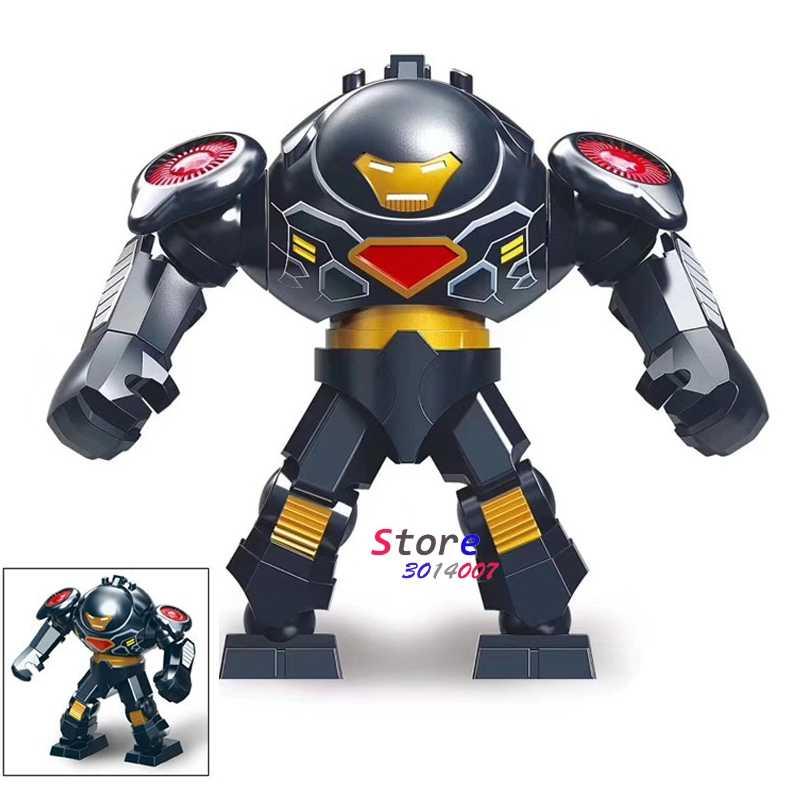 シングルビッグサイズ驚異 Hulkbuster ハルクバスターグリーンランタン Kilowog Thanos さん毒虐殺バットマンビルディングブロックのおもちゃ