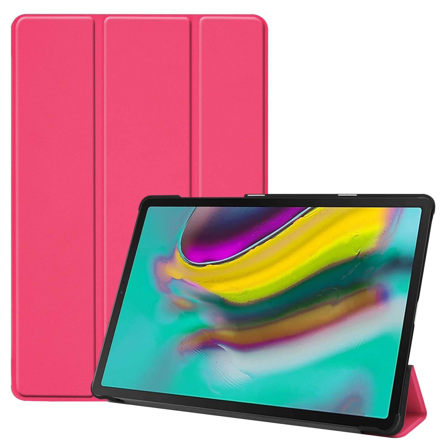 Fmway Smart Case Cover for Samsung Galaxy Tab S5e 10.5 T720 T725 2019 with Ultra Slim Light Translucent Frosted Back