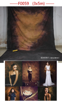 3x 4m Tye Die Muslin Portrait Background Photography Camera Fotografica Wedding Backdrop Backgrounds For Photo Studio