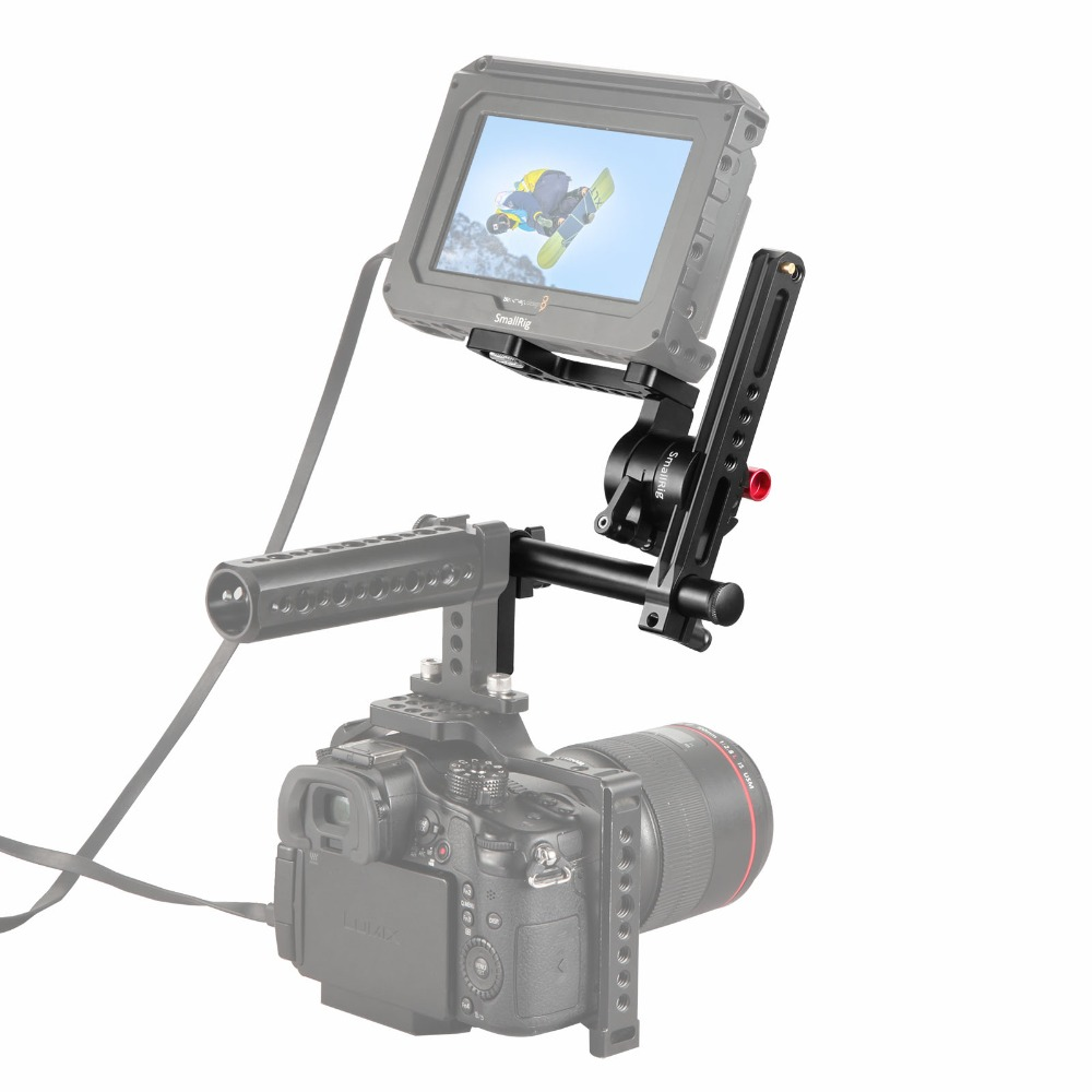 Image 5 - SmallRig DSLR Camera EVF Mount with NATO Rail Adjustable 1903-in Tripod Monopods from Consumer Electronics