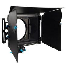 FOTGA DP3000 Pro Matte Box Zonnescherm w/Donuts voor 15mm Rod DSLR Rig A7 A7S A7RIII A7SIII A6300 GH4 GH5 GH6S A6500 BMPCC RODE FS7