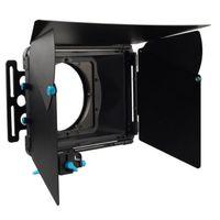 FOTGA DP3000 Pro matowe pudełko osłona przeciwsłoneczna w/pączki na 15mm pręt statyw dslr A7 A7S A7RIII A7SIII A6300 GH4 GH5 GH6S A6500 BMPCC czerwony FS7 w Akcesoria do studia fotograficznego od Elektronika użytkowa na