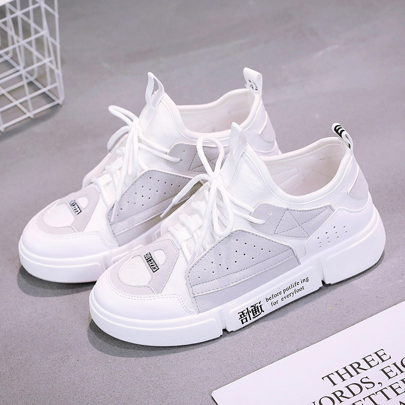 Women Sneakers 2018 New Spring Summer Flats Women Shoes lace-Up Platform Breathable Fashion Mixed Color Women Casual Shoes smile circle spring autumn women shoes casual sneakers for women fashion lace up flat platform shoes thick bottom sneakers