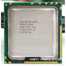INTEL XONE W3565 Quad core 3.2 МГЦ LeveL2 8 М 4 ядро ДЛЯ lga 1366 montherboard