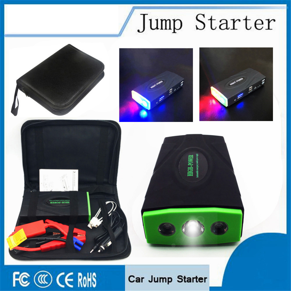 High Power Car Jump Starter High Power Portable Car Charger Multi-function Start Jumper Emergency Car Battery Booster Buster LED