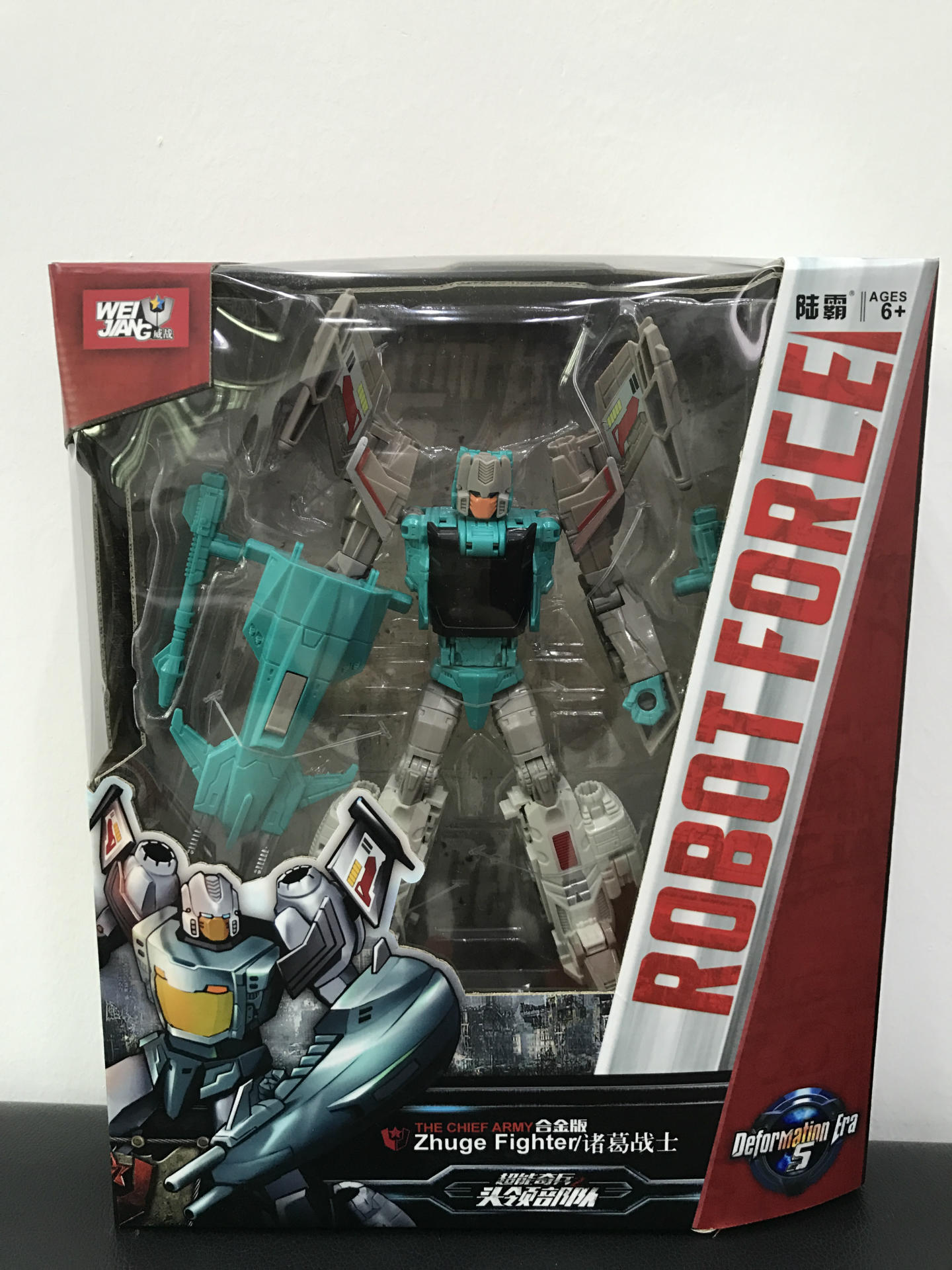 "MFT-44 Transformers Decepticons Black Shadow Action Figure 5/"" Toy New in Box"