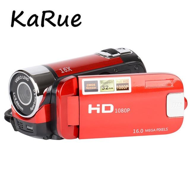 KaRue  Hot 2.7 Screen with 270 degree Rotation Digital Camera  DVR  Camcorder TFT LCD 16X Digital Zoom 16MP CMOS Digital Camera