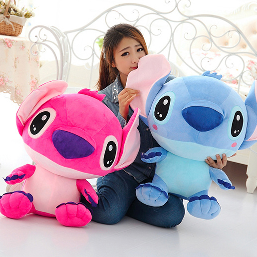 Hot Sale 20\3050\70CM Fast Cartoon Lilo and Stitch Plush Toys Famous Cartoon New Arrival 12pcs cute blue lilo stitch resin cartoon figure anime girls boys collectible resin mini 2 3cm toys new lnf