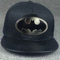 Chapéu Boné de beisebol Chapéu Snapback O novo Batman único 2016 nova folha de ferro novo Batman Cap M-60