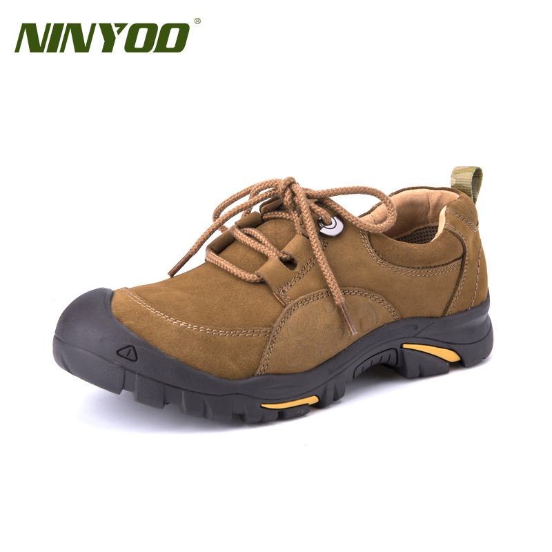 High Quality Men's Outdoor Shoes Genuine Leather FLats Shoes Lace Up WearproofWaterproof Plus Size&Big Size Casual Shoes 38-50