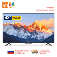 Television Xiaomi TV andriod Smart led TV 4A Pro 43 inches HDMI WIFI 1GB+8GB Global version| multi language