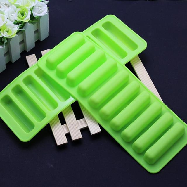 Silicone Cylinder Ice Cube Tray