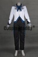 Puella Magi Madoka Magica Homura Akemi genderbend форма костюм для костюмированной игры F006