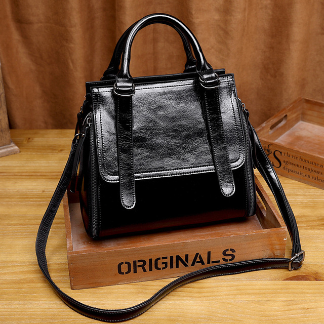 LUYO Real Genuine Leather Handbags Luxury Brand Handbags Women Bags Designer Female Crossbody Bags For Women Shoulder Bag Ladies