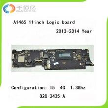 Logic Board A1465 for MacBook Air 11 i5 1.3Ghz/ 1.7Ghz 4GB / 8G 2013-2014 Year 820-3435-A 820-3435-B