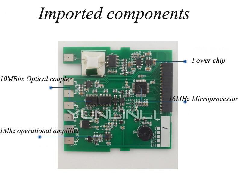Contrôleur de PH moniteur en ligne industriel numérique 0.02pH 1mV alarme de contrôle de limite inférieure supérieure contrôleur de PH SIN-PH160 - 4