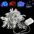 EU Plug 10m LED Star String Lights 220V 6W DIY Children Kid's Room Decoration Birthday Party Fairy Lighting