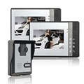 Home Security 7 inch TFT LCD Monitor Video Door phone Intercom System With Night Vision Outdoor Camera  video peephole