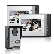 Home Security 7 inch TFT LCD Monitor Video Door phone Intercom System With Night Vision Outdoor Camera цены
