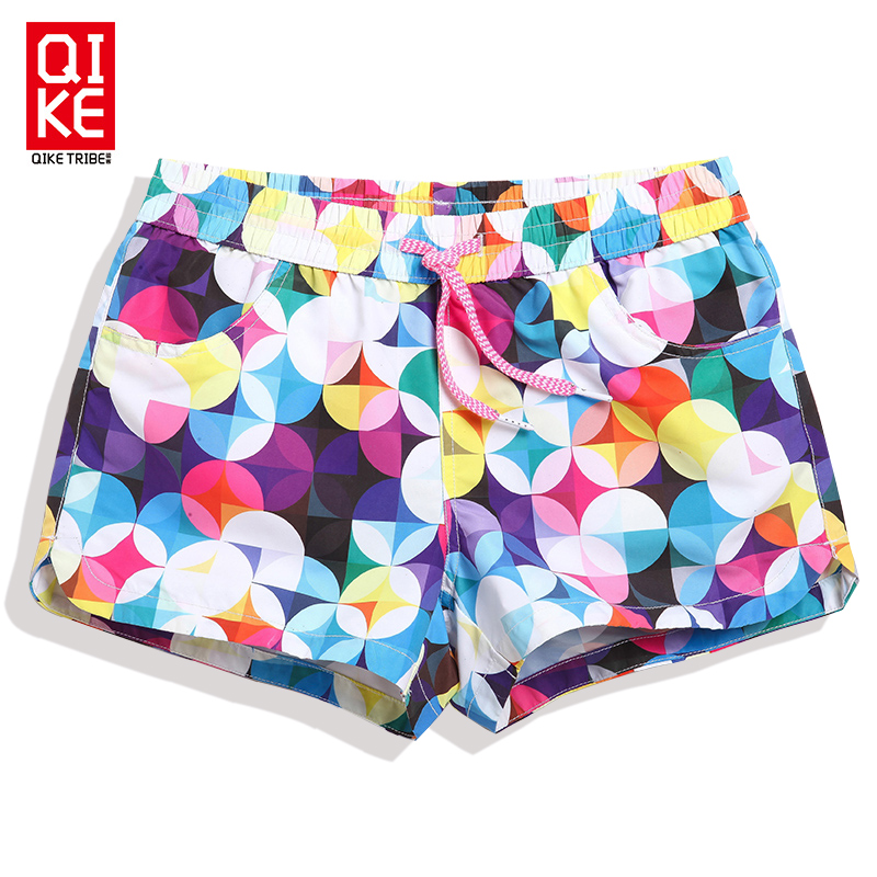 2018 New women   board     shorts   swimwear sexy dot ladies swimsuits holiday praia swimming trunks beach surf bermudas sungas joggers