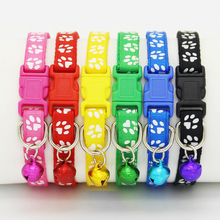 Cats Collars Bell Puppy-Breakaway Dog Safety Adjustable Nylon with And Bling/Pet-dog/Puppy