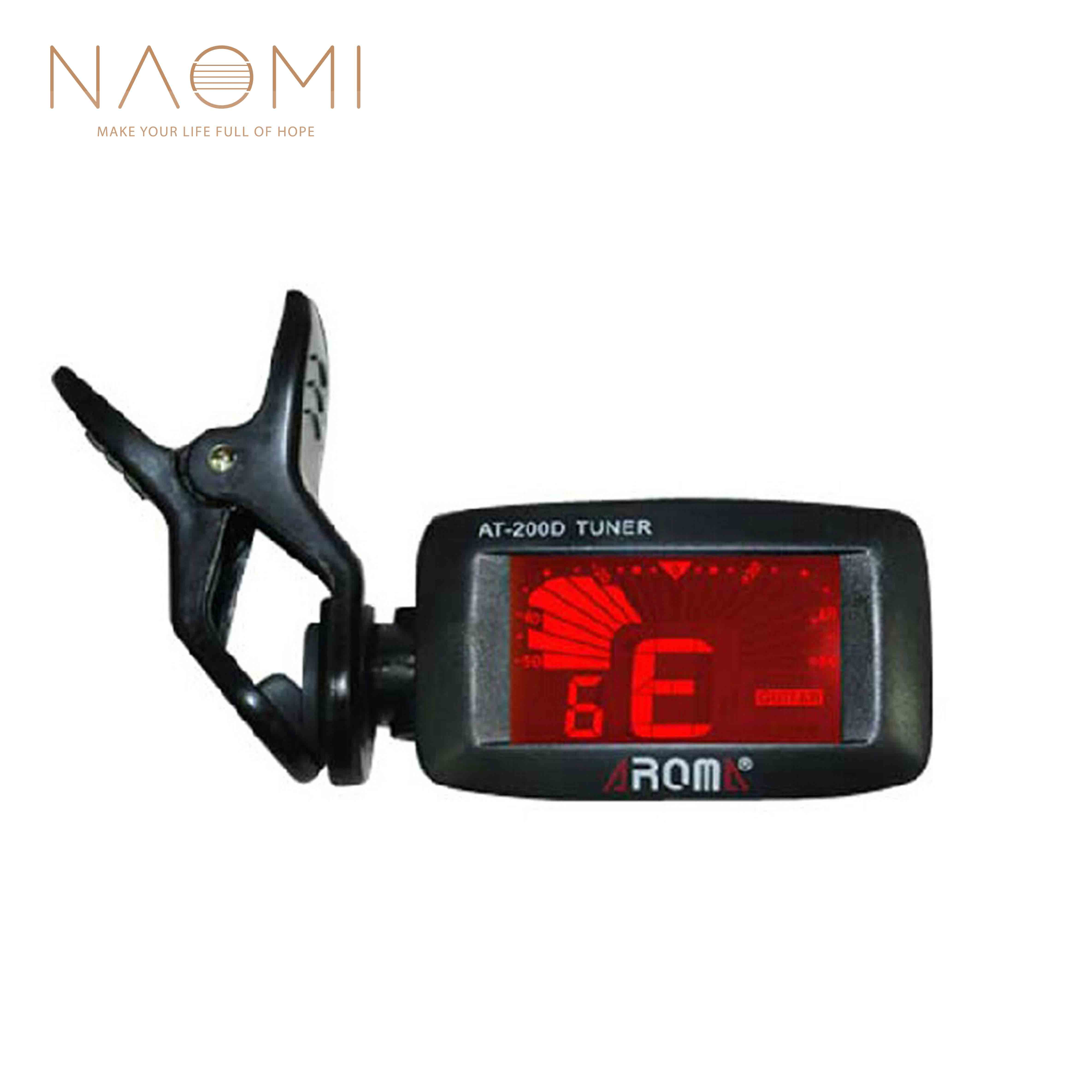 naomi aroma at 200d guitar tuner digital guitar tuner clip on chromatic tuner for acoustic. Black Bedroom Furniture Sets. Home Design Ideas