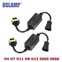 Oslamp High Beam Dipped Beam Error Free Canbus For LED Car Headlight Bulb Kits For SUV