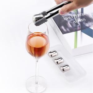Image 4 - Youpin cubito de hielo circular Joy 304 de acero inoxidable, máquina de hielo lavable a largo plazo para corchos de vino, zumo de fruta H20