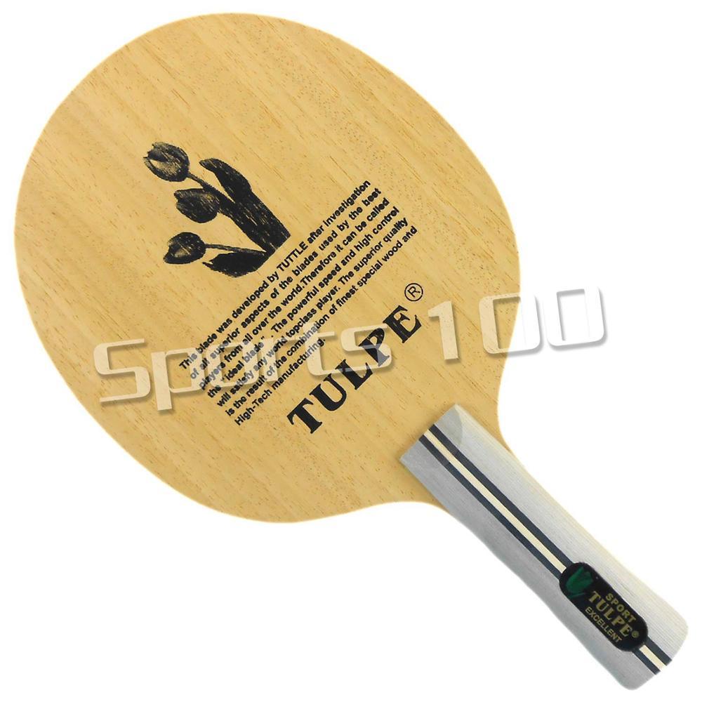 Kokutaku Tulpe T-7008 Juniper & Arylate-Carbon Attack+Loop Table Tennis Blade Shakehand for PingPong RacketKokutaku Tulpe T-7008 Juniper & Arylate-Carbon Attack+Loop Table Tennis Blade Shakehand for PingPong Racket