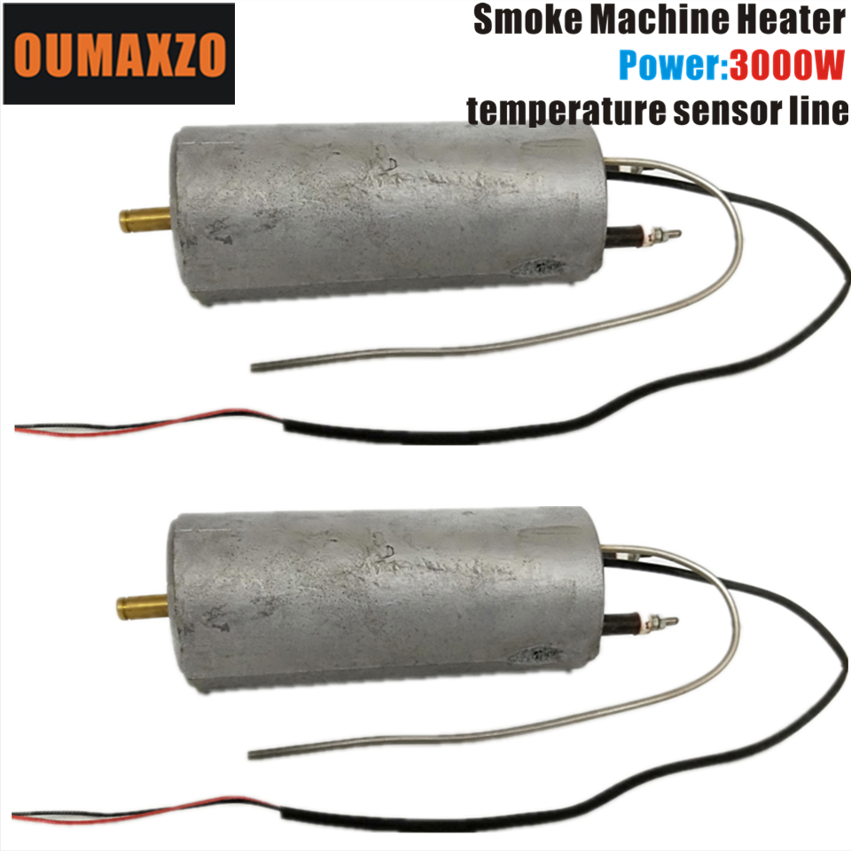 2PCS/LOT OUMAXZO 3000W 110V 220V Fog Machine heater belt line smoke machine <font><b>hazer</b></font> Hood <font><b>stage</b></font> light image