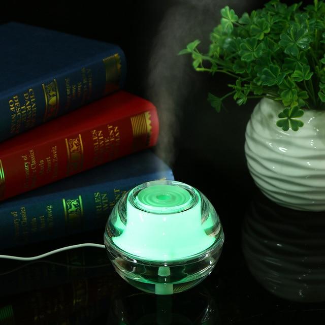 Crystal Air Humidifier Night Light Household Luminous Mini USB Humidifier Portable Aroma Diffuser Home Ofifice Mist & Crystal Air Humidifier Night Light Household Luminous Mini USB ...