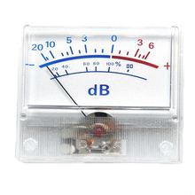 1 шт высокоточный vu метр измеритель уровня звука дБ силовой
